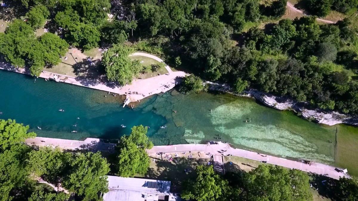 Barton Springs Municipal Pool, Austin, Texas - Another