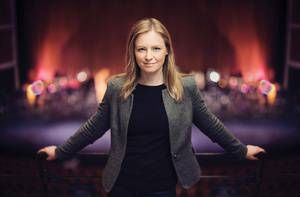 Gemma New Conducts Beethoven's Ninth
