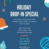 Holiday Drop-In Special