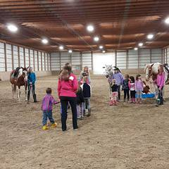 Registration for Winter Parent and Me Children's Riding Lessons