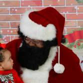 NAAM Black Santa Visit