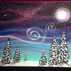 Kid & Adult Paint Night