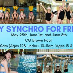 Free Synchronized Swimming Lessons