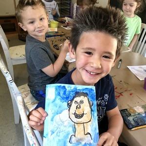 Summer Camp Art + Play