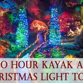 "Kayak Tour and ""Magic of Christmas"" at Butchard Gardens"