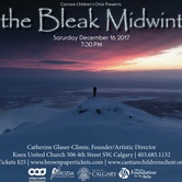 "Cantare Children's Choir presents ""In the Bleak Midwinter"" concert"