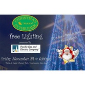 TREE LIGHTING PRESENTED BY PG&E