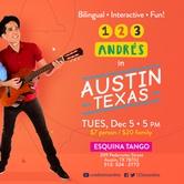 Latin Grammy-winning kid's rocker 123 Andrés returns to Austin! Kids & Family