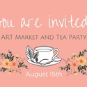 Art Market & Tea Party