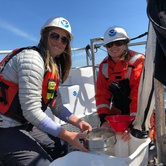 Grant Awardees Kaytlin Ingman & Samantha Jane Cope - American Cetacean Society - SF Bay Chapter