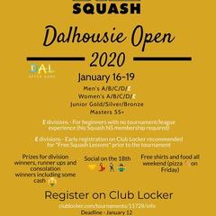 Dalhousie Open 2020