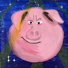 Kids Night Out - Disco Pig