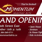 Grand Opening: Momentum Martial Arts