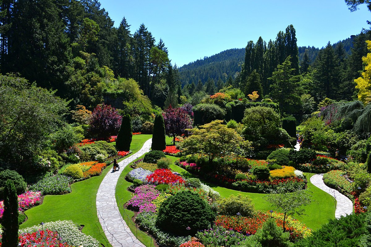 Butchart gardens - Butchart gardens tour from victoria ...