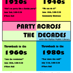 PARTY ACROSS THE DECADES: THROWBACK TO THE 1980S