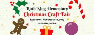 Ruth King Christmas Craft Fair 2019