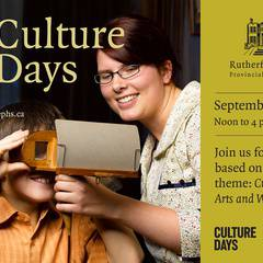 Culture Days at Rutherford House!