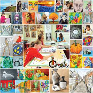 Professional art classes for children, teens, and adults in the heart of Clarkson Village, Mississauga