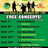 Burlingame Music in the Parks - Urban Outlaws