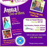 Wigs for Kids Cut-A-Thon Fundraiser!