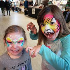Amazing Face & Body Painting! - All welcome!