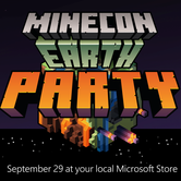 Microsoft Store Official MINECON Earth Party