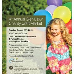 4th Annual Glen Lawn Charity Craft Market