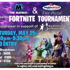 The Matrix 1st Annual Fortnite Tournament Fundraiser