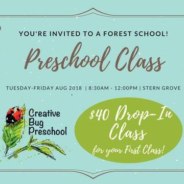 Creative Bug Preschool's promotion image