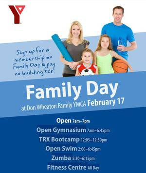 Family Day at Don Wheaton Family YMCA