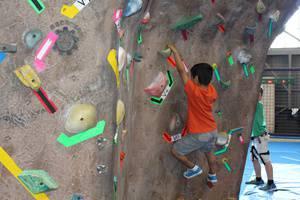 Rock Wall Camp at Bladium!