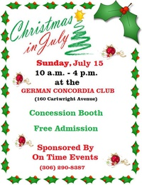 Christmas In July Crafts & Trade Show 2018