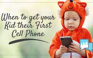 When to get your Kid their First Cell Phone