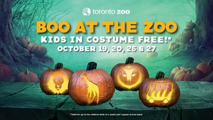Boo At The Zoo- Kids In Costume 12 & Under FREE*