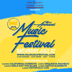 Redwood City PAL Music Festival 2019