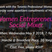 Women Entrepreneur Social Mixer