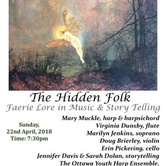 The Hidden Folk - Faerie Lore in Music & Story Telling