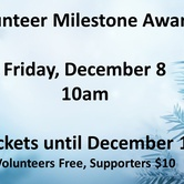 Volunteer Milestone Awards