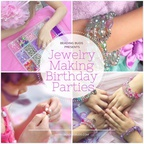 Beading Buds -  a mobile jewelry making birthday party