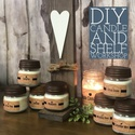 DIY Candle and Shelf Workshop at Nature's Kindle
