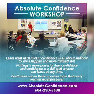 Absolute Confidence Workshop For Ladies