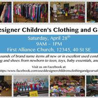 Used Designer Children's Clothing and Gear Sale SE