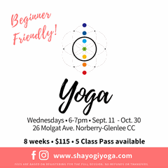 ST. VITAL FALL YOGA 8 WEEKS