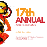 Opening Reception: 17th Annual Juried Members Show