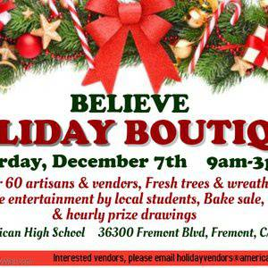 15th Annual Holiday Boutique & Craft Fair