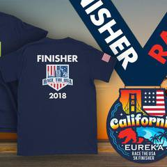Race the USA California Virtual 5k Run/Walk - San Jose
