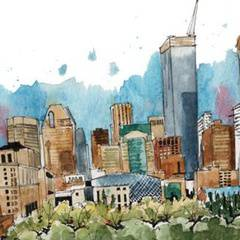 Watercolour Workshop : Intro to Watercolour through Urban Sketching
