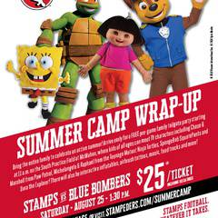 Calgary Stampeders Family Day Summer Wrap Up Game!!
