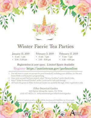Beloved Faerie Tea Parties