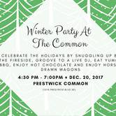 Winter Party At The Common